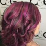 Purple Hair Colour C&G