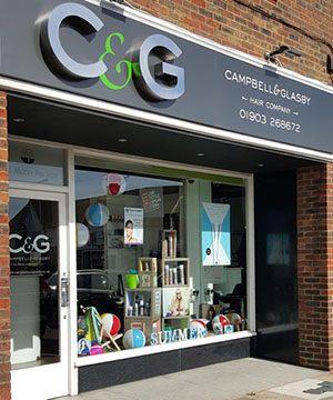 CandG Shop Front
